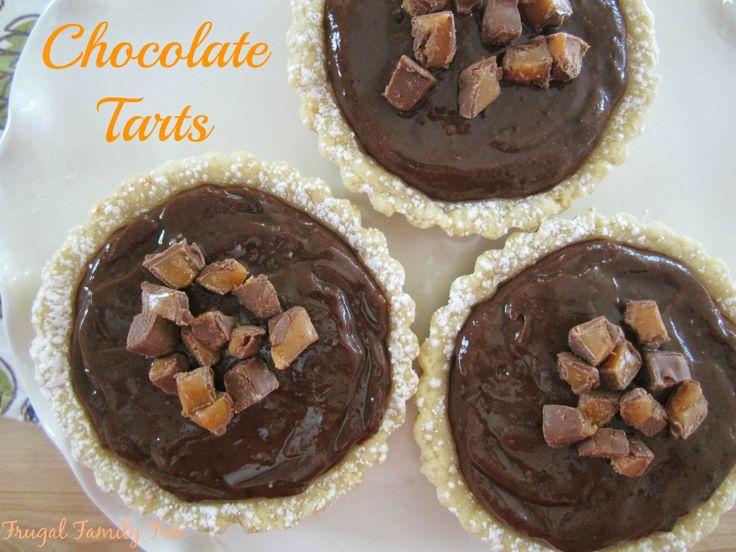 Milky Way Tart Recipe — Dishmaps