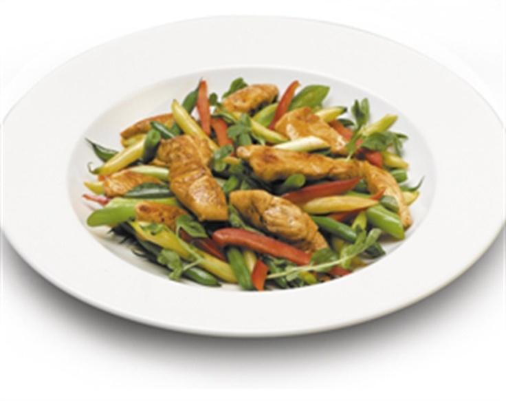 Honey Chicken Stir-Fry Recipe — Dishmaps
