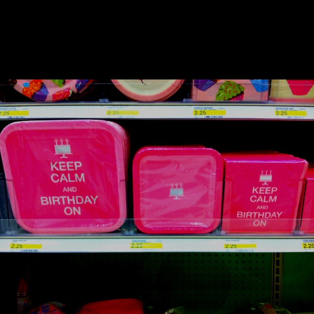 Love these birthday plates at Target!  Party Ideas  Pinterest