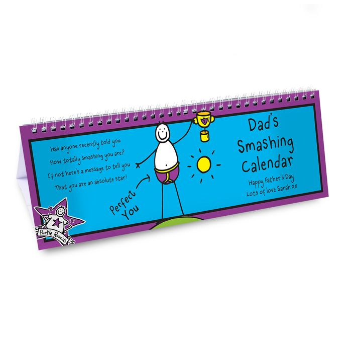 calendar with father's day