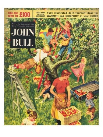 John Bull, Picking Apples Fruit Magazine, UK, 1950 This is an apple sensory study. Looks very good!