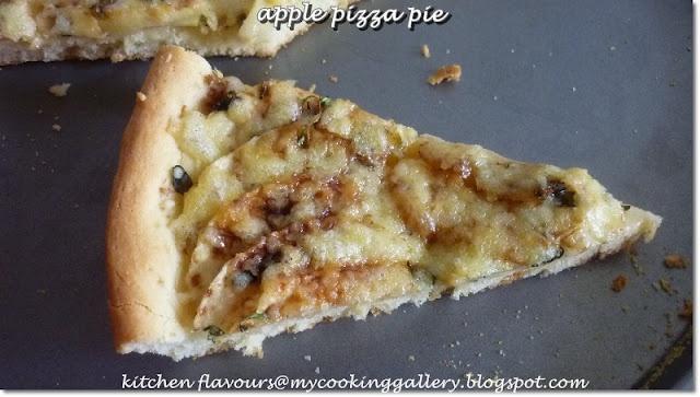 Apple Pizza Pie | Delicious Desserts | Pinterest