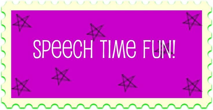 Speech Time Fun