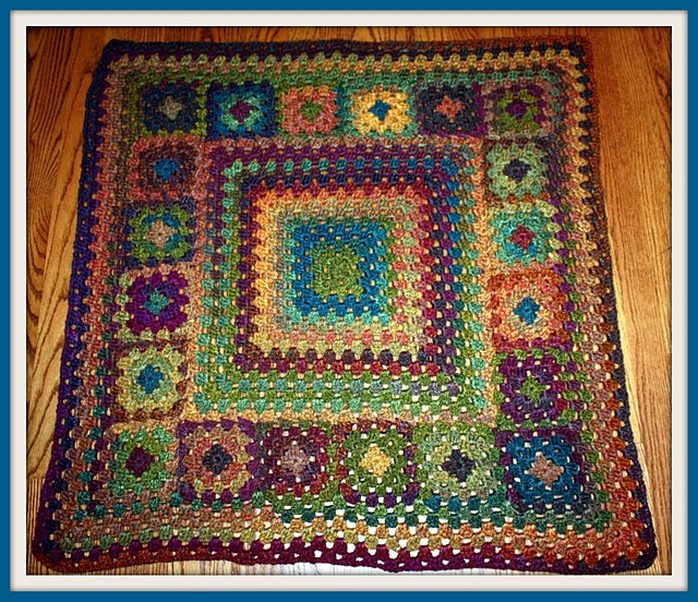 Crochet Afghan Pattern Homespun Yarn : crochet Homespun Pinterest
