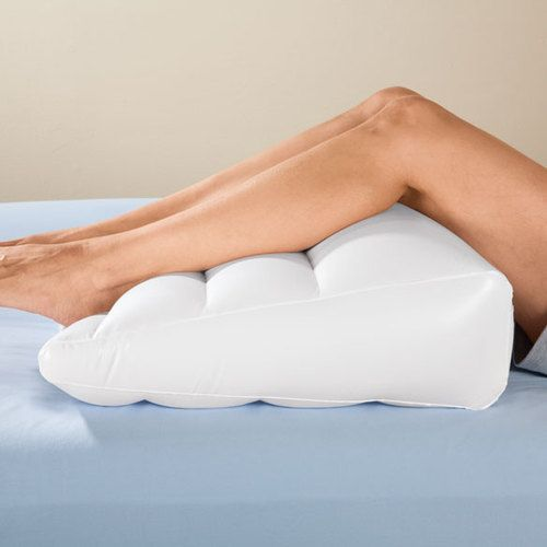 """Inflatable Beds With Legs: Inflatable Bed Wedge 21"""" X 21"""" X 7"""" Head Leg Back Travel"""
