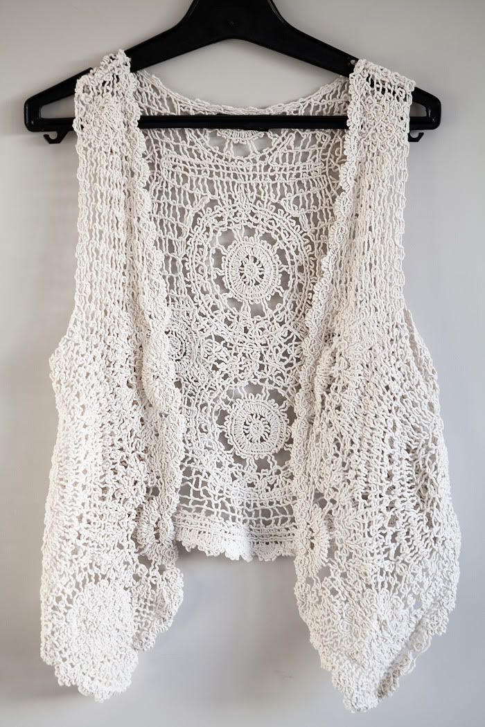crochet vest Knit Crochet Macrame Knots Pinterest
