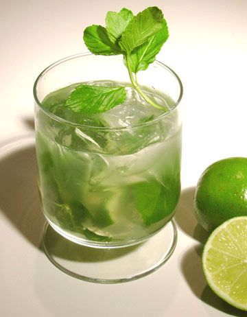 Ginger Mint Caipirinha Cocktail - my favorite flavors