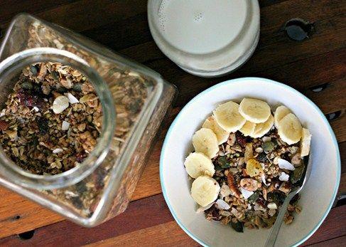 Crunchy Quinoa & Buckwheat Granola