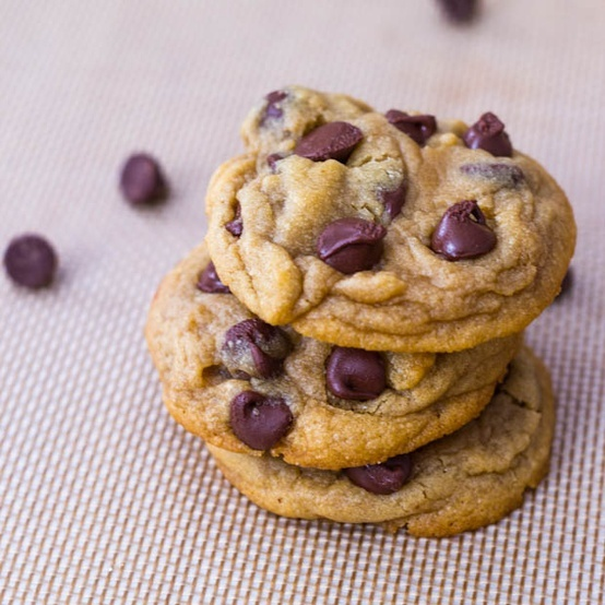 Perfect Chocolate Chip Cookies | Baking Delights | Pinterest