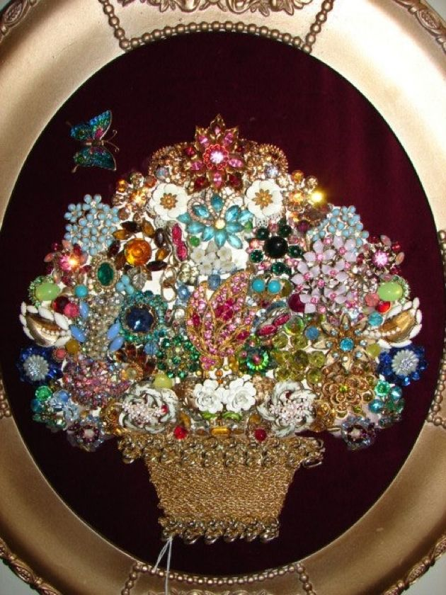 idea for old jewelry jewelry christmas tree pinterest