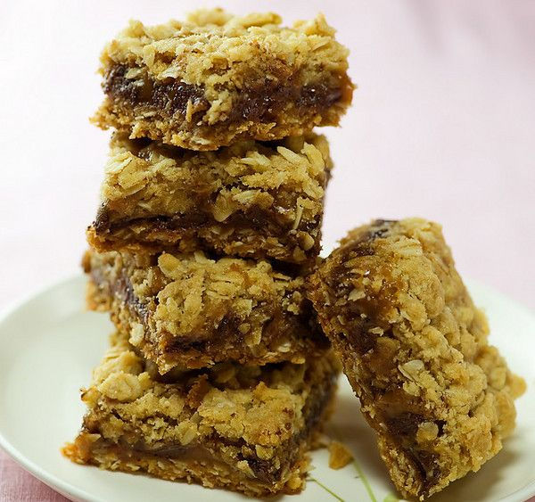chocolate carmel oatmeal bars, I've made these for years, but it's ...