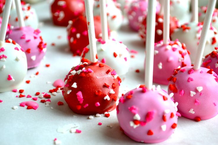 valentine's day cake pop flavors