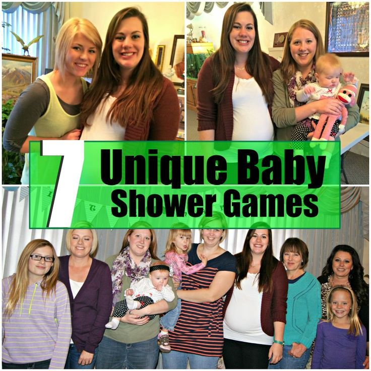unique baby shower games celebrations pinterest