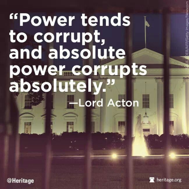 An Essay On How Power Corrupts