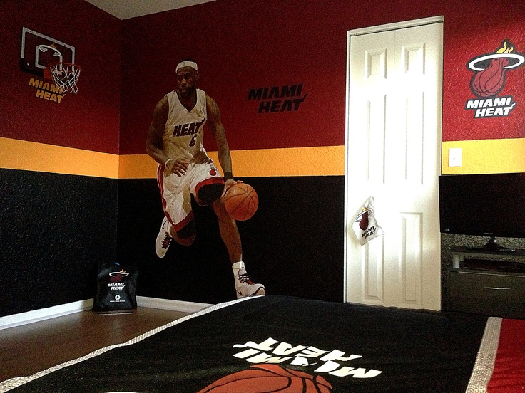 miami heat kids bedroom this is how my son wants his room