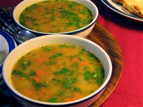 ... Food Tips, No Mayo: Red Lentil Soup with Lemon, India, and Breakfast