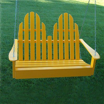 Prairie Leisure Design 14 Adirondack Porch Swing