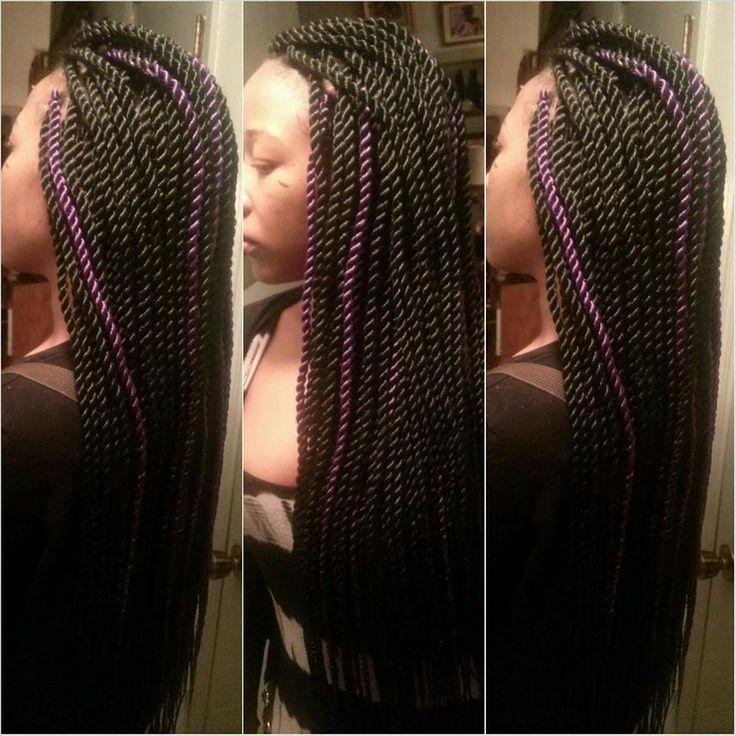 rope twists hairstyles : rope twist hair Pinterest