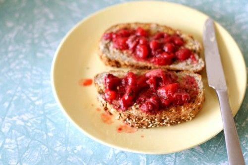 Strawberry thyme jam   Jordi loves this.   Pinterest