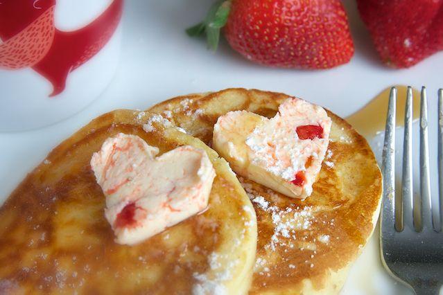 Meyer Lemon Strawberry Compound Butter