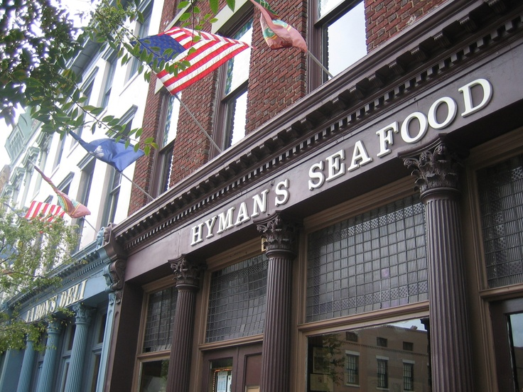 Hyman's Seafood, Charleston, SC  Awesome! You won't be disappointed. by Myra Luker