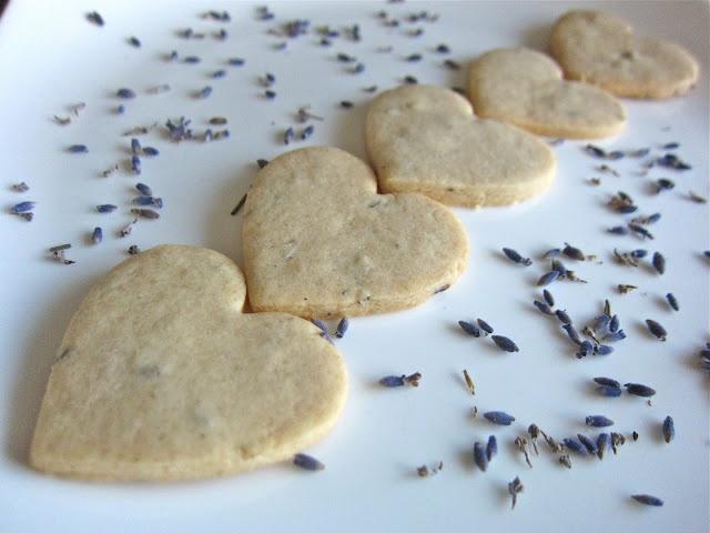 Lavender-Honey Shortbread Cookies | Lavender | Pinterest