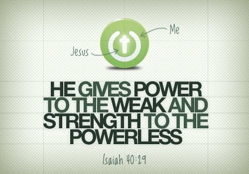 He is my rock and my salvation!