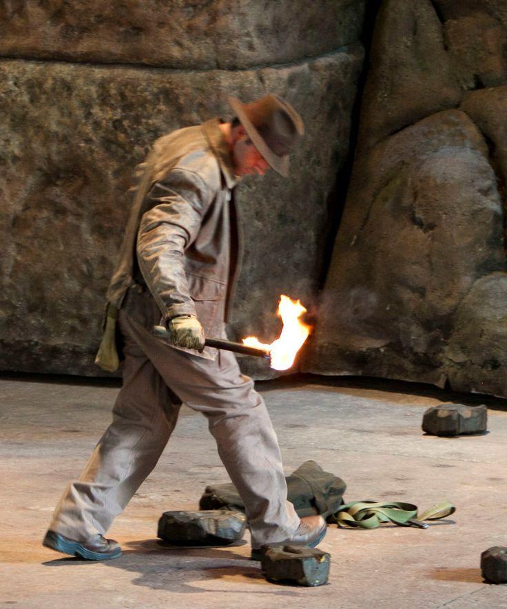Indiana jones epic stunt spectacular in disney s hollywood studios at