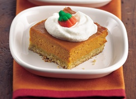 HONEY PUMPKIN SQUARES