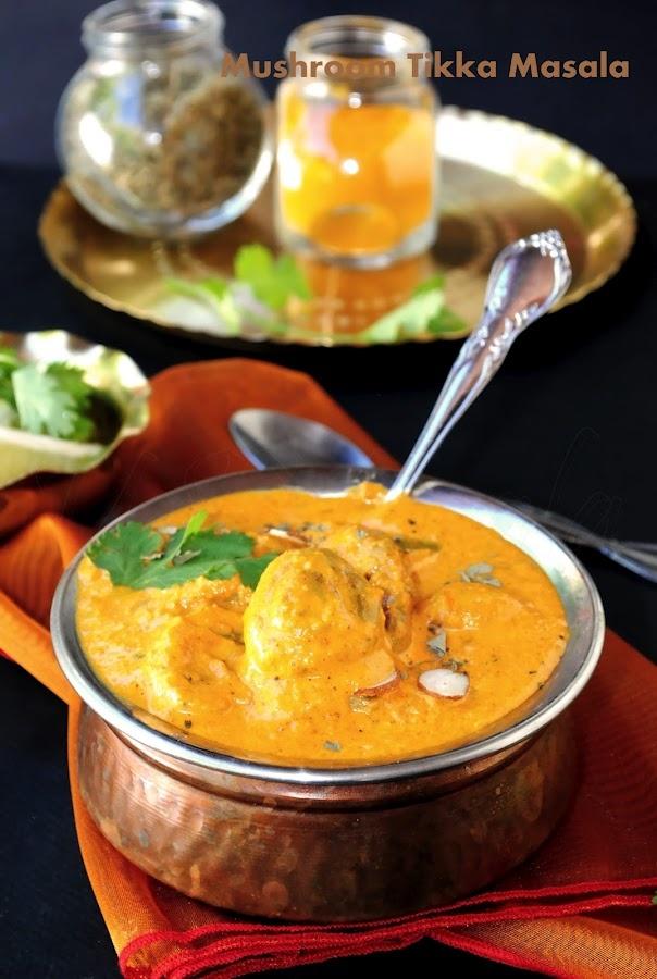 US Masala: Mushroom Tikka masala | Favorite Recipes | Pinterest