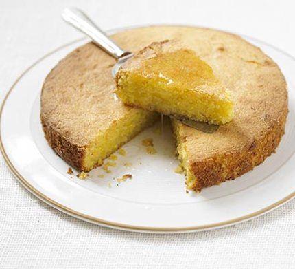 Lemon polenta cake recipe | Delicious food recipes | Pinterest