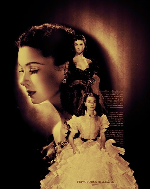 Scarlett o 39 hara gone with the wind pinterest for Who played scarlett in gone with the wind