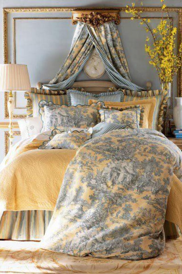 Love Bedding From Chic Antique French Country