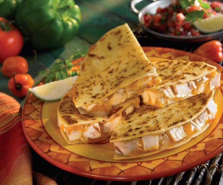 Chicken Fajita Quesadillas Recipe | Food or Drinks. :D | Pinterest