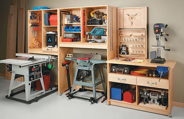Space saving workshop workshop ideas pinterest - Home storage ideas for small spaces plan ...