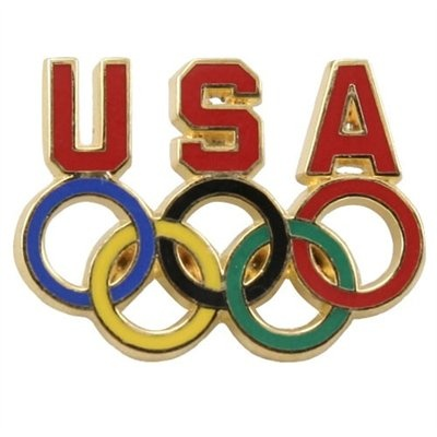 Team USA Olympics Pin