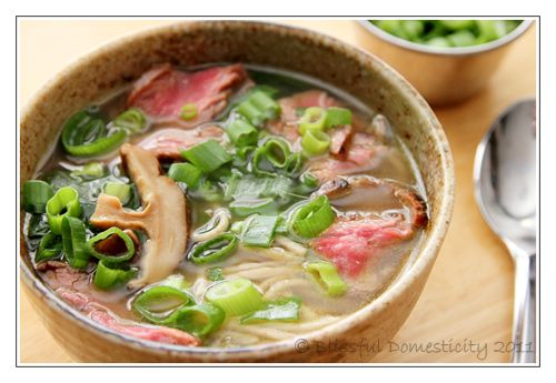 Ginger Spinach Soba Soup...delicious!! | eat clean | Pinterest