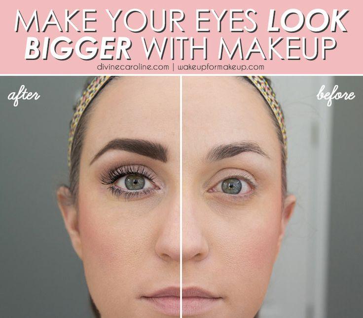 Makeup Tips To Make Eyes Bigger Cat Eye Makeup