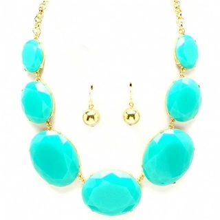 chunky #turquoise necklace
