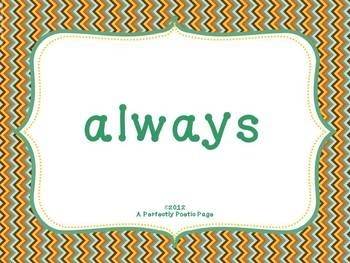 Second Grade Sight Word PowerPoint. $ #sightwords #dolch #powerpoint # ...: http://pinterest.com/pin/111745634477404592/