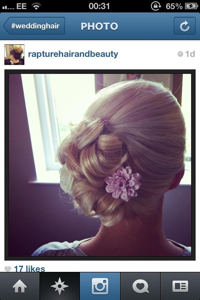 Bridesmaid hair took off Instagram! | Hairstyles | Pinterest