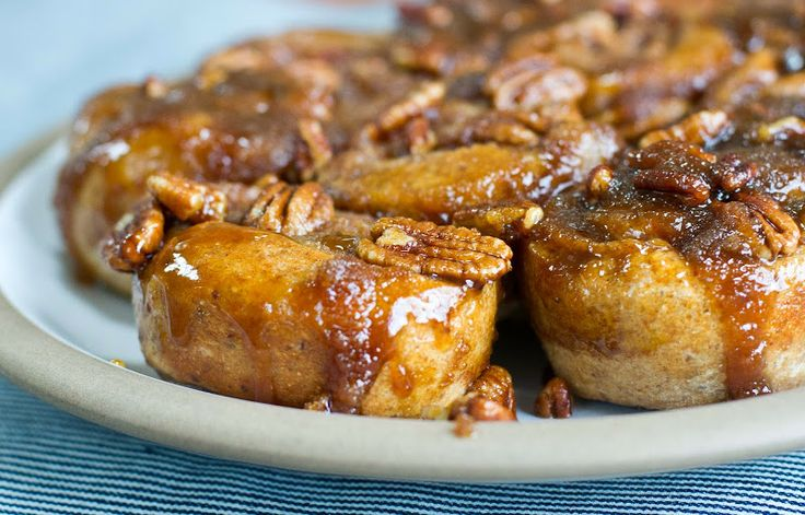 Whole-wheat brown sugar sticky buns from bon appatempt