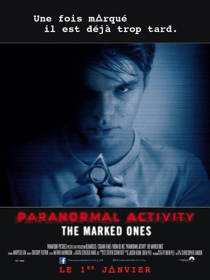 Sneak watch paranormal activity themarkedones movie online