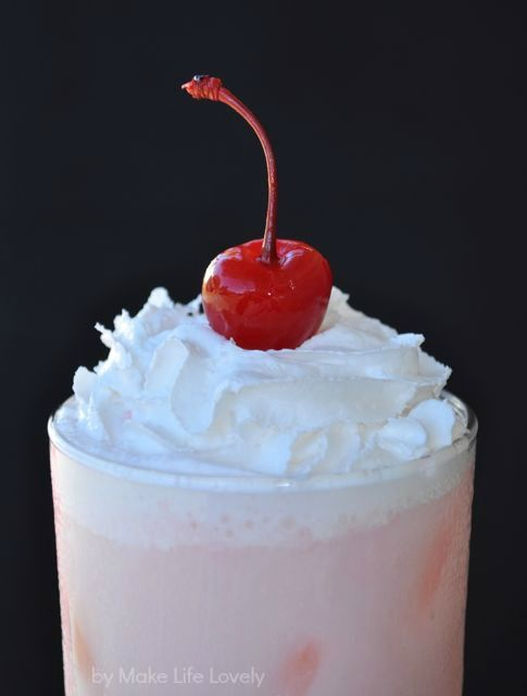 Italian Creme Sodas ~ For each soda you will need: >1 C club soda >4 ...