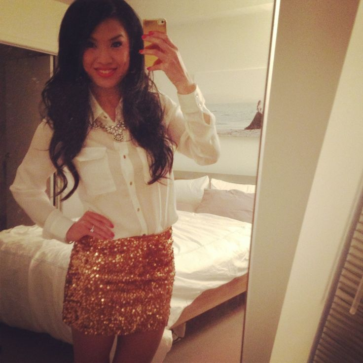 White And Gold Blouse 17