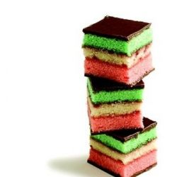 Italian Rainbow Cookies | 4 lg or med eggs, separated 1 can of Solo ...