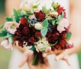 How To Arrange A Dahlia Wedding Bouquet