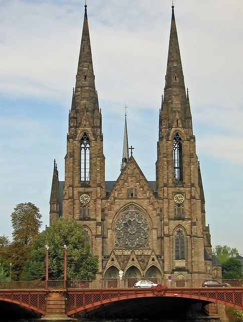 Strasbourg cathedral france architecture pinterest for Strasbourg architecture