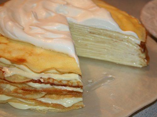 Meyer Lemon Crepe Cake Recipe. | Cake, Cupcake & Pie | Pinterest