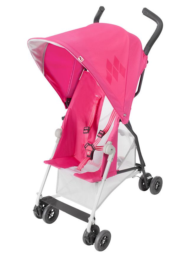 {Project Nursery's picks for hottest strollers this year} The @Maclaren Mark II is built for strength but super light-weight at just 7.3 pounds! #babygear